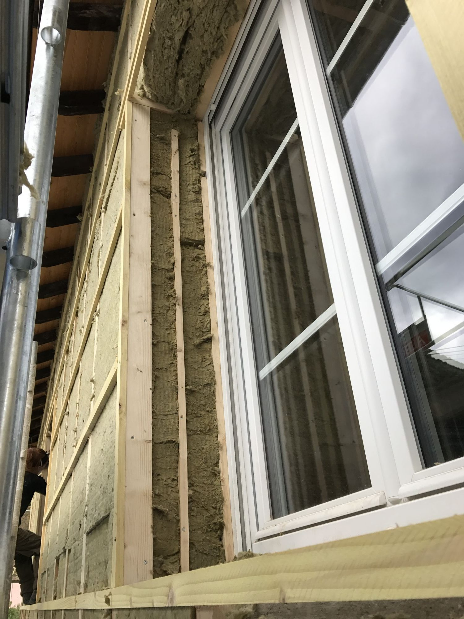 Isolation exterieure pignon maison affordable isolation for Materiaux pour isolation exterieure