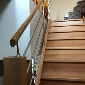 Menuiseries en Ariège escalier bois bis matière