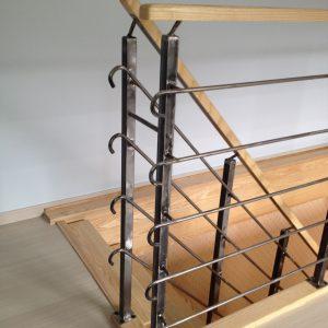 Menuiseries en Ariège escalier bois acier