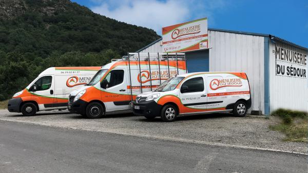 l'entreprise et ses véhicules