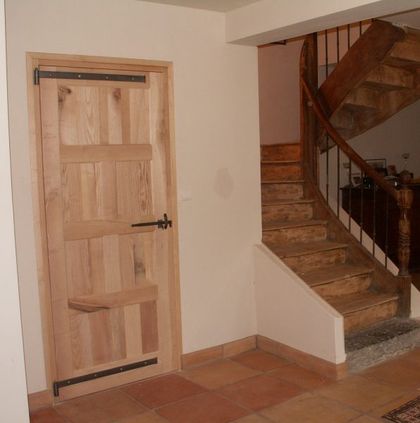 menuiseries extérieures en Ariège porte d'entrée