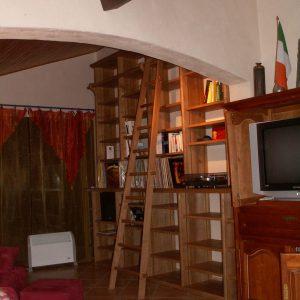 Menuiseries en Ariège meuble salon