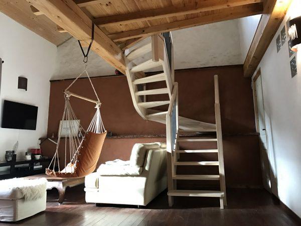 menuiseries intérieures en Ariège escaliers