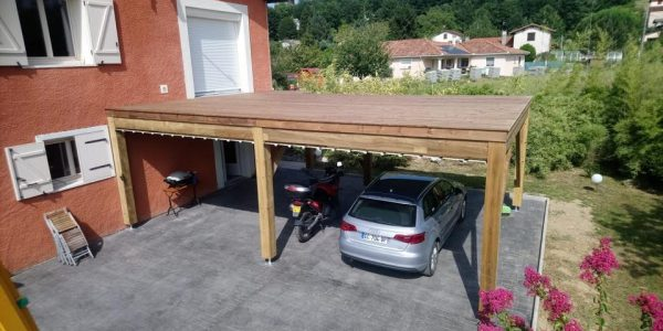 terrasse carport