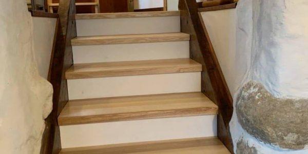 remplacement escalier bois - Après travaux